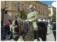 Mel Gibson durante le riprese della Passione di Cristo a Matera