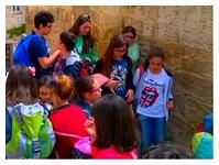 bambini in visita a Matera